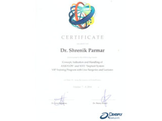 Awards & Certificates